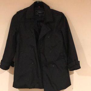 Sleek trench coat